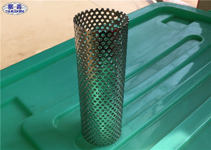 Round Perforated Filter Tube Stainless Steel As Sand Control Supporting Pipe